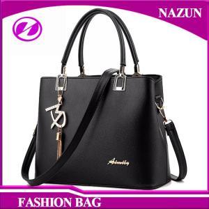 China 2017 New designer European durable custom-made fashion nice pu leather trendy ladies bags handbags supplier
