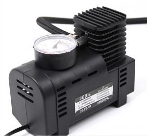 China Weight 0.8 Kgs Portable Car Air Pump DC 12V 250 Psi Pressure With Watch on sale