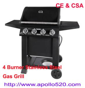 China 4 Burner Stainless Steel Gas Grill on sale