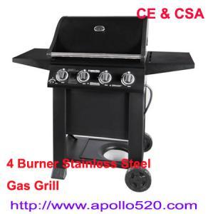 China South African Type 4 Burner Gas Braai BBQ on sale