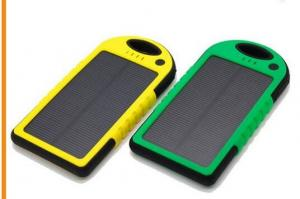 China 2016 Solar Power Bank 4000mAh Waterproof Powerbank Cargador Portable Solar Charger for Cell Phones on sale