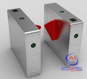 China 50w Indoor Outdoor Turnstile Web Based IP Biometric Acess Automated Security Gates supplier