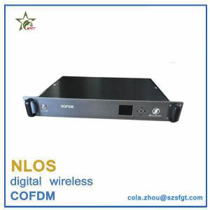 China 1.5U Rack mount Data Encrypted cofdm wireless video link on sale