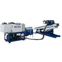 Long Stroke Hydraulic Piling Rig / Borehole Drilling Machines Depth 50 - 80m