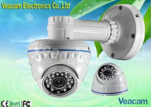 China 3.6mm Lens(6mm Optional) LED Vandal Proof Dome Camera With 20M IR Working Distance on sale