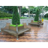 China Outdoor wpc flower pot/composite garden pot on sale