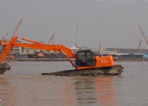 0 6 m3 Bucket Capacity Pontoon Swamp Buggy Excavator For Extremist
