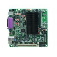 China Atom N2800 CPU Fanless Embedded Mini ITX motherboard 6 COM ,8 USB2.0 industrial mainboard on sale