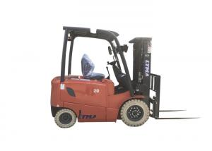 China Ltma 4 Wheel Electric Forklift Truck Low Running Cost With LED Lamp And 450ah Battery on sale