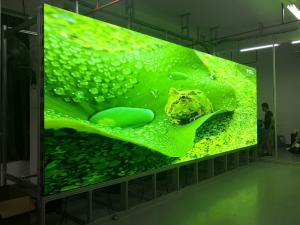 China New Innovation  Indoor LED Video Wall  , Small Pixels Digital LED Display TV Station Usage on sale