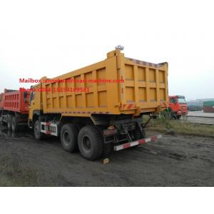 China 6x4 HOWO Heavy Duty Dump Truck 10 Wheels 371HP LHD 10 - 25 CBM 30 - 40 Tons For Mining Industry on sale