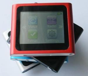 China nano 6 1.8 inch touch screen 7 colors ipodnano 6th generation on sale