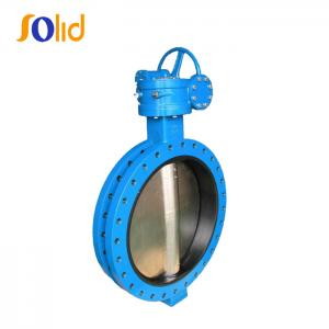 China DN200 wafers end type butterfly valves with price on sale
