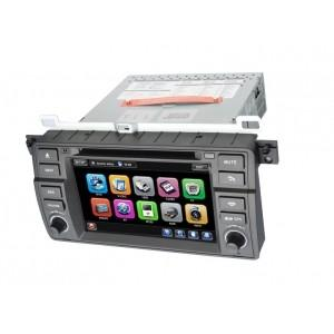China BMW E46 Car Touch Screen GPS Bluetooth DVD Player with Windows CE 6.0 / ISDB-T / RDS on sale