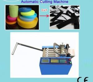 China Manufacturer hook&loop tape/Hook&loop tape cutting machine on sale