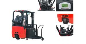 China Three Wheel Electric Forklift Truck Customised Color 4011mm Max Lift Height on sale