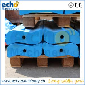China high chrome Cr26 McCloskey impactor bars and liners for crushing iron ore on sale