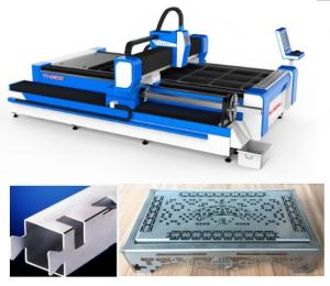 China SS Pipes 3D Laser Cutting Machine / 3 Axis Fiber Sheet Metal Cutter on sale