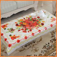Fashionable Table Sashes And Chair Covers  , Rectangular Printed Jacquard Table Linens