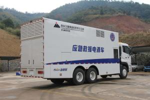 Sound Less High Power Mobile Power Plant , Truck Mounted