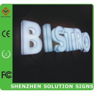 China Full Lighting Acrylic 3D Letter Sign on sale