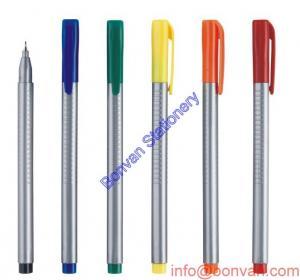 China 0.4mm fine tip 12 colors ink Paint liner,fine tip marker pen, art drawing fineliner pen on sale