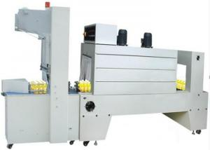 China PE Shrink Film Wrapping Machine Semi - Automatic Shrink Sleeve Packaging Machine on sale