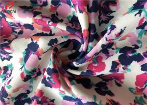 China Flower Printed Polyamide Waterproof Nylon Spandex Fabric For Swimwear on sale