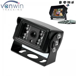 China Universal Mount Infrared Adjustable Angle Rear View Back Up Camera with Anti-Glare Shield on sale