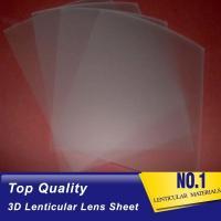 161 lpi lenticular lens film 0.25mm pet 3d sheet lenticular lenses materical for 3d lenticular printing service