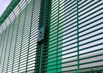 Professional 358 Security Mesh , Metal Welded Fence Panels 76.2x12.7mm