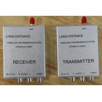 China 1.5W wireless video av transmitter and receiver on sale