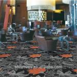80%Chinese wool 20%nylon dark color jacquard hotel decorative carpet