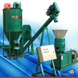 China Complete Small Animal Feed Pellet Production Line High Performance Easy Maintenance on sale