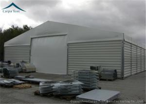 China Customzied Shape Aircraft Hangar With Wide Space , Wind Resistant on sale
