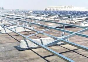 China SGS720H Solar Ground Photovoltaic Mounting System 0.55KN/m2 Snow Load on sale