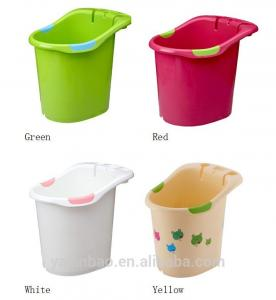 China High quality food grade freestanding bathtub plastic simple bathtub for baby on sale