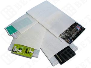 China Custom Printed White Plastic Shipping Envelopes BP 150*220mm on sale