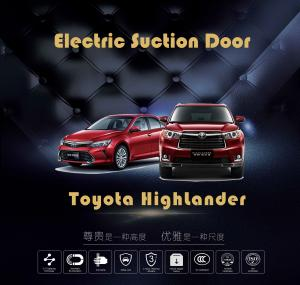 China Toyota HighLander Soft Close Automatic Anti Pinch Electric Suction Door on sale