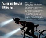 550Lm最も新しい極度の質の耐候性がある日本PSE再充電可能なバイクによって隠されるドライビング・ライト