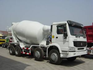 China 8x4 Sinotruk Concrete Mixer Trucks, EURO II, EURO III, 299hp to 380hp on sale