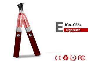 China 650mAh 1.8ohm EGO E Cigarette Changeable Atomizer / 700 Mouthful eGo CE5 Kit on sale