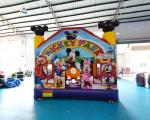 Playground Wholesale Children Mini Miki Kids Jumping Bouncer Bouncy Castle Inflatable Bounce House