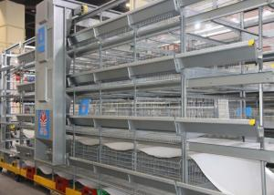 China Poultry Farm Battery Automatic Chicken Cage Saving Feed ISO9001 Approved on sale