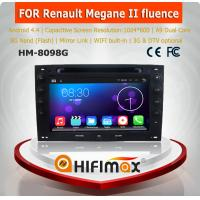 HIFIMAX Android 4.4.4 car dvd gps navigation for Renault Megane 2003-2008 WITH Capacitive screen+1024*600 Resolution