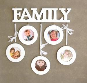 Family Tree Picture Frame Wall Hanging family tree photo wooden picture frames wall hanging - home