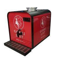 China Compressor Cooled Alcohol Chiller Machine Single Bottle Wine Refrigerator on sale