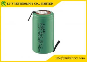 China Large Capacity 1.2 V 4000mah Battery / 10440 Rechargeable Batteries on sale