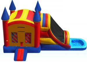 71506e2bead6 Funny Inflatable Bouncer Combo WIith Water Slide