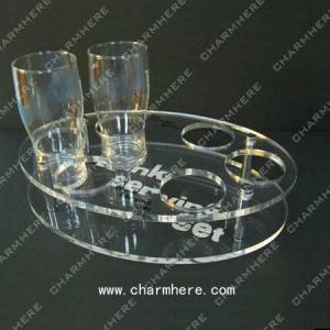 China Acrylic Bottle Holder on sale